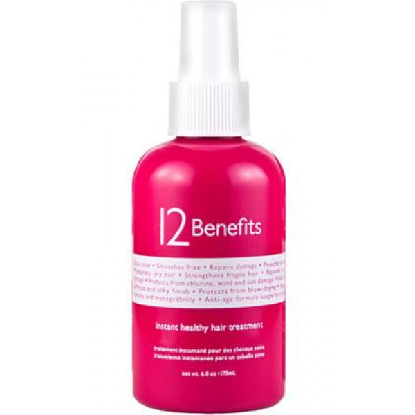 12 BENEFITS INSTANT HEALTH HAIR TRMT 6OZ