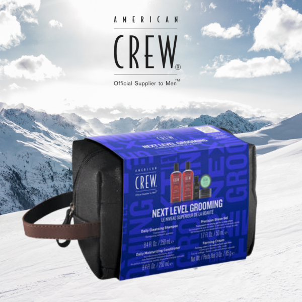 AMERICAN CREW HOLIDAY NEXT LEVEL GROOMING KIT