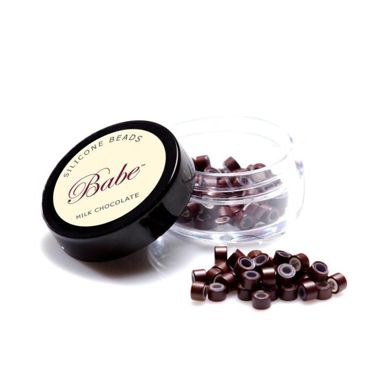 BABE SILICONE BEADS MILK CHOCOLATE