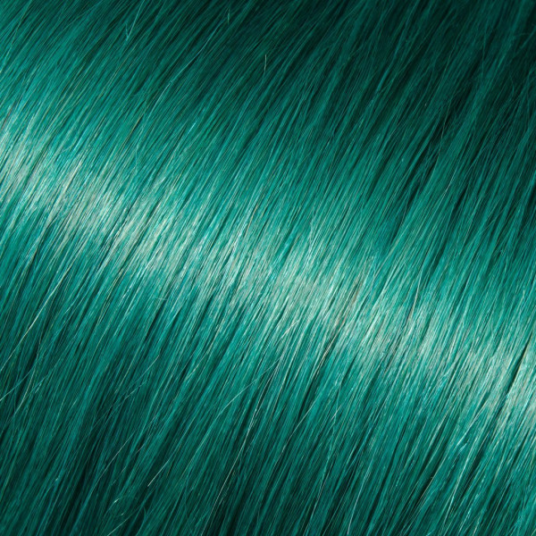 "BABE 18"" FUSION KERATIN BOND HAIR EXTENSIONS   TEAL PEGGY"