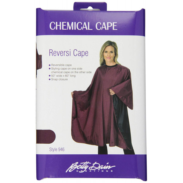 BETTY DAIN REVERSIBLE CHEMICAL STYLING CAPE