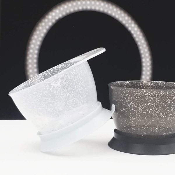 COLOR TRAK GALAXY GLITTER SUCTION BOWLS