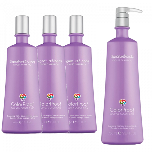 COLORPROOF SIGNATURE BLONDE SHAMPOO DEAL
