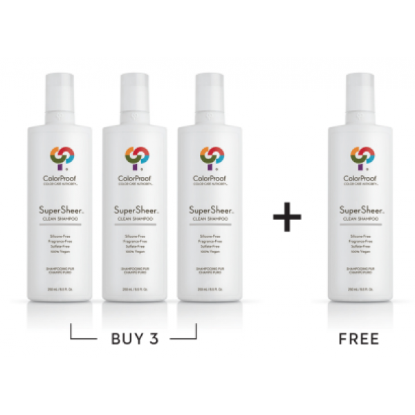 COLORPROOF SUPERSHEER CLEAN SHAMPOO DEAL