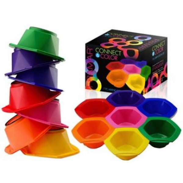 FRAMAR CONNECT & COLOR BOWLS RAINBOW PACK