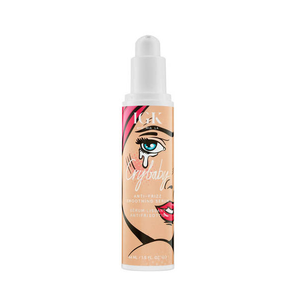 IGK CRYBABY ANTI-FRIZZ SMOOTHING SERUM