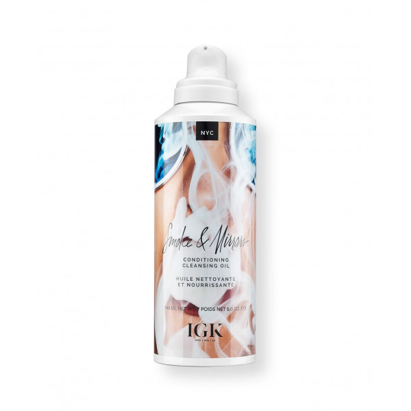 IGK SMOKE & MIRRORS 2-IN-1 CONDITIONING CLEANSING OIL