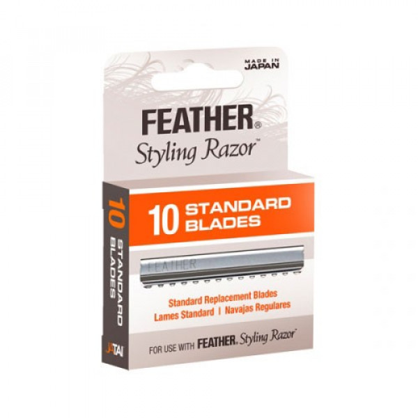 FEATHER STANDARD STYLING BLADES 10PK