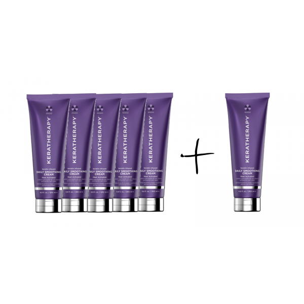 KERATHERAPY DAILY SMOOTH CREAM DEAL