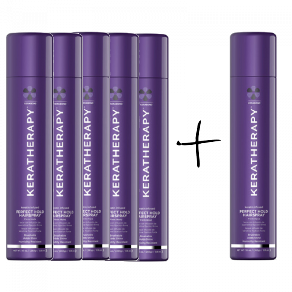 KERATHERAPY PERFECT HOLD HAIRSPRAY DEAL
