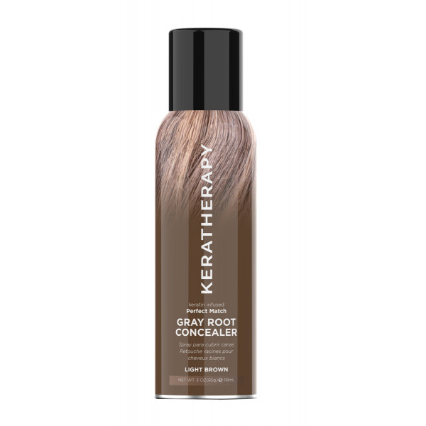 KERA NEW ROOT CON PERF MATCH LIGHT BROWN