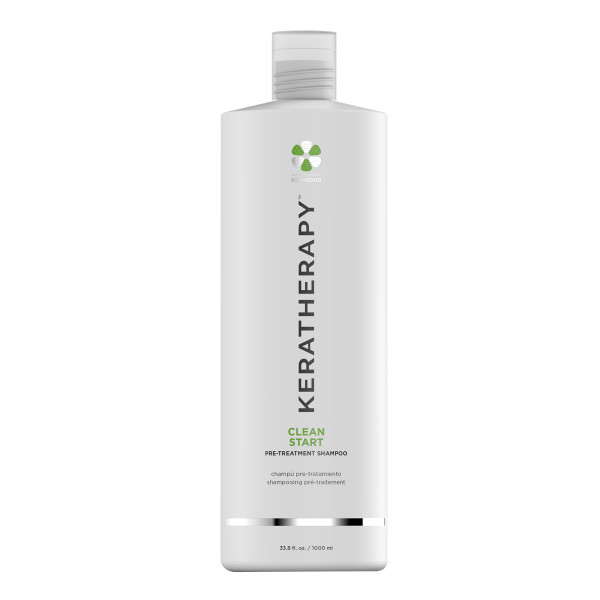 KERATHERAPY CLEAN START PRE-TREAT SHAMPOO  33OZ