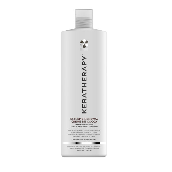 KERATHERAPY EXTREME RENEWAL CREME DE COCOA KERATIN SMOOTHING TREATMENT  33OZ
