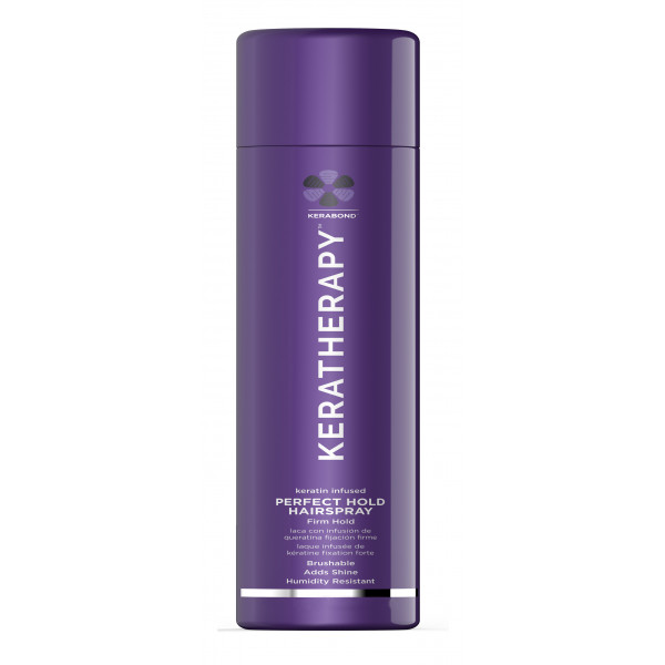 KERATHERAPY KERATIN INFUSED PERFECT HOLD HAIRSPRAY  2OZ
