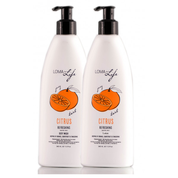 LOMA FOR LIFE CITRUS LOTION & BODY WASH