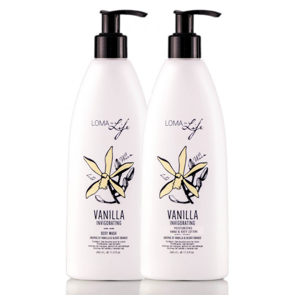 LOMA FOR LIFE VANILLA LOTION & BODY WASH DUO