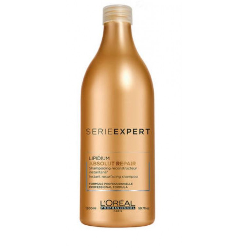 L'OREAL PROFESSIONNEL SERIE EXPERT ABSOLUT REPAIR LIPIDIUM SHAMPOO  50OZ