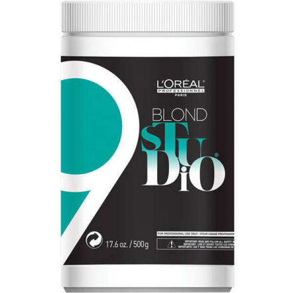 L'OREAL PROFESSIONNEL BLOND STUDIO 9 LIGHTENING POWDER  17.6OZ