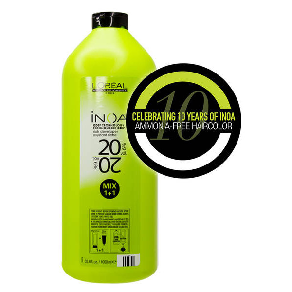 L'OREAL PROFESSIONNEL INOA RICH DEVELOPER 20 VOL LITER