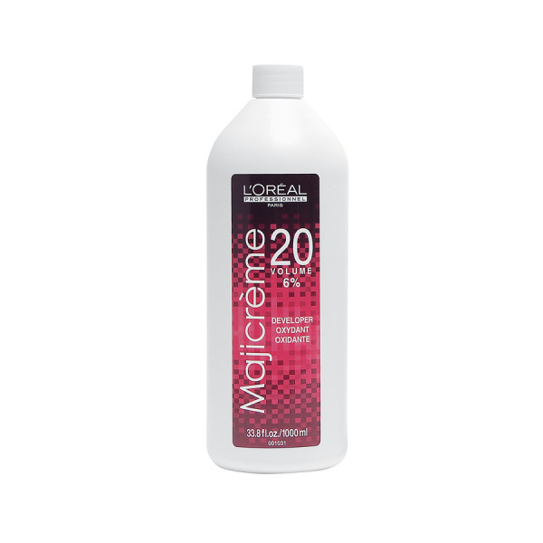 L'OREAL PROFESSIONNEL MAJICREME 20 VOL DEVELOPER LITER