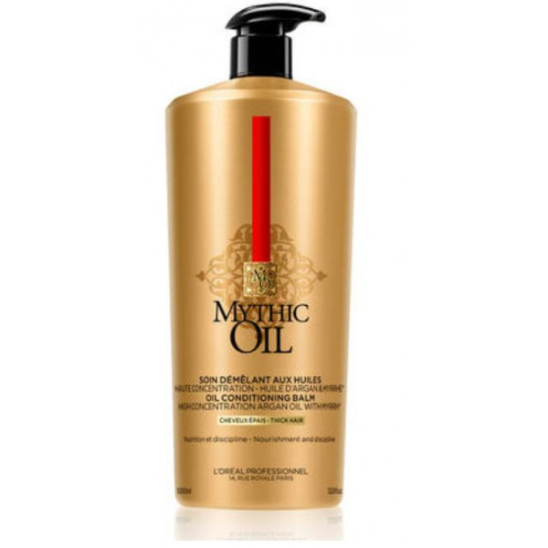 L'OREAL PROFESSIONNEL MYTHIC OIL CONDITIONER BALM FOR THICK HAIR  33OZ