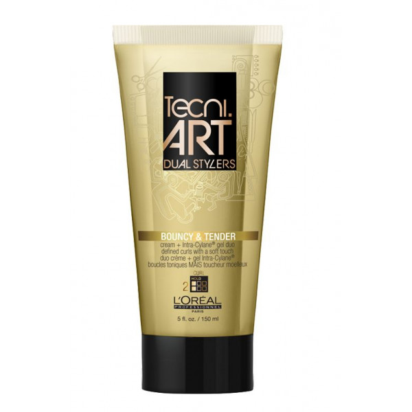 L'OREAL PROFESSIONNEL TECNI.ART DUAL STYLERS BOUNCY & TENDER CURL DEFINING GEL