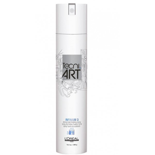 L'OREAL PROFESSIONNEL TECNI.ART INFINIUM 3 MEDIUM HOLD HAIRSPRAY