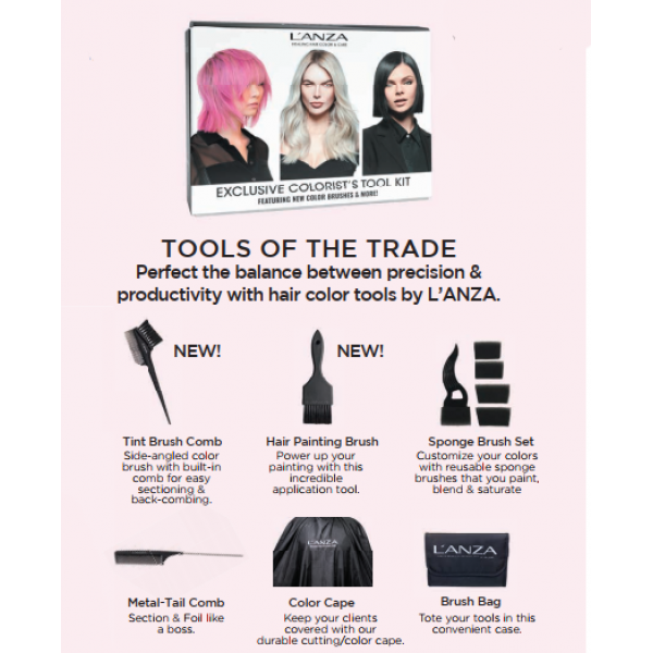L'ANZA TOLLS OF THE TRADE KIT