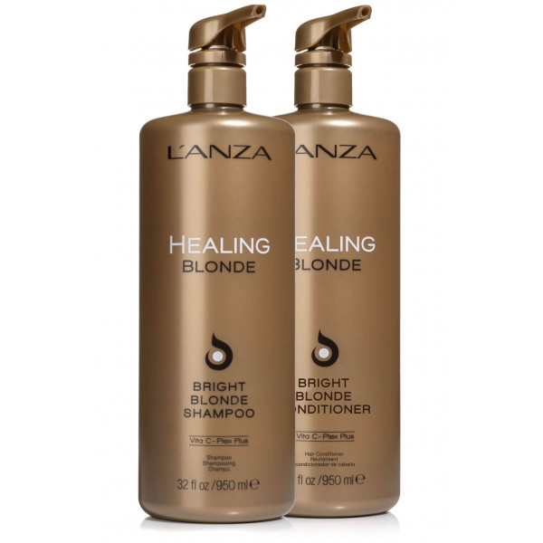L'ANZA BRIGHT BLONDE LITER DUO