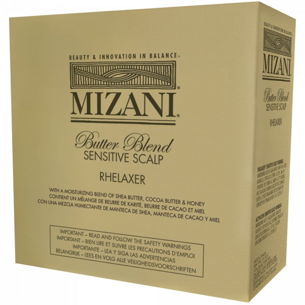 MIAZANI BUTTER BLEND SENSTIVE SCALP RELAXER KIT
