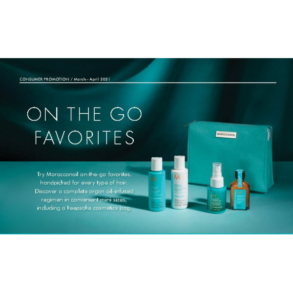 MOROCCANOIL BLONDE ON THE GO BAG DEAL