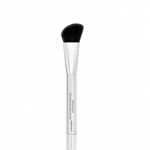 MIRABELLA SCULPTING FOUNDATION AND CONTOUR PROFESSIONAL MAKEUP BRUSH