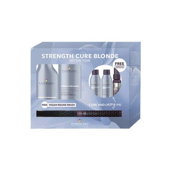 PUREOLOGY STRENGTH CURE BLONDE CARRY ON KIT