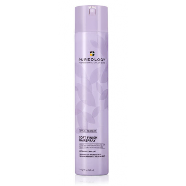 PUREOLOGY SOFT FINISH HAIRSRPAY  11OZ