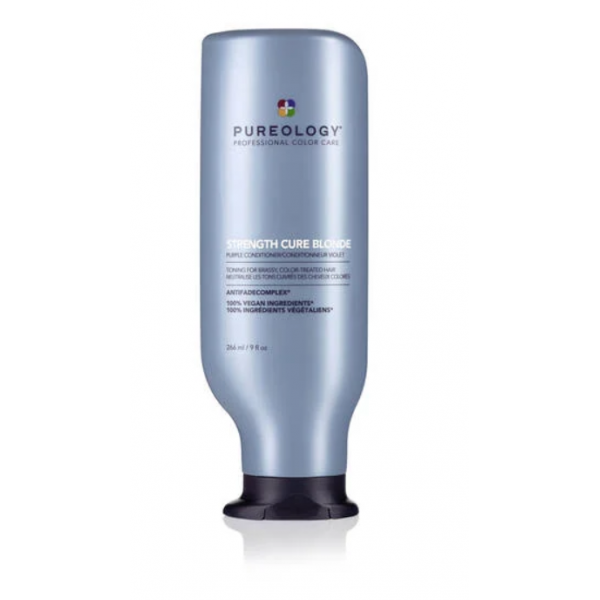 PUREOLOGY STRENGTH CURE BLONDE COND 9 OZ