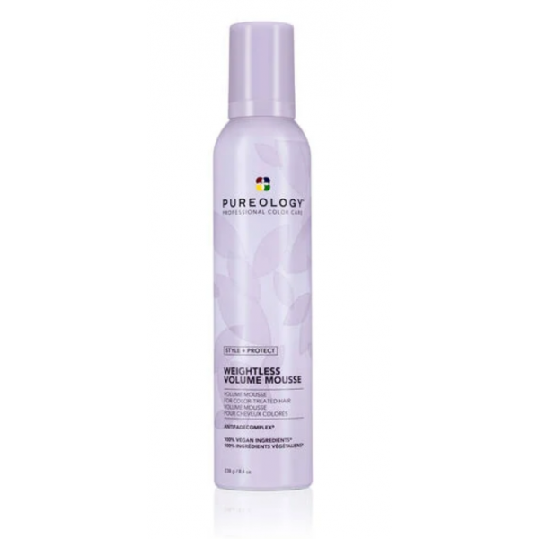 PUREOLOGY WEIGHTLESS VOLUMIZING MOUSSE  8.4OZ