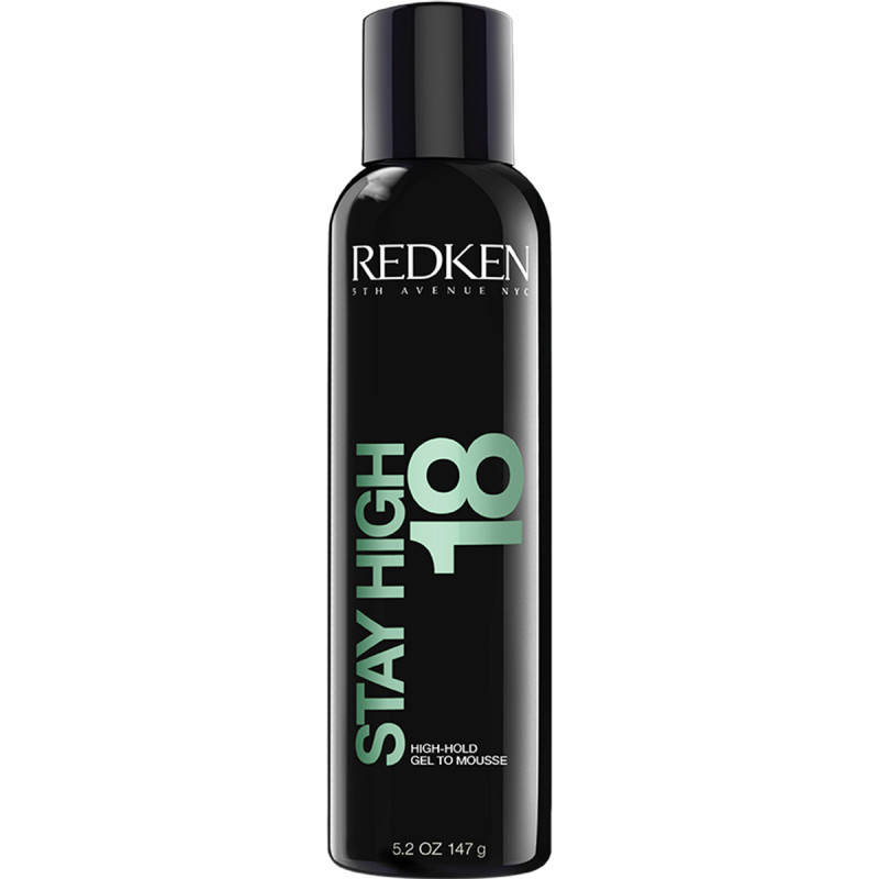 REDKEN STYLING STAY HIGH 18 HIGH HOLD GEL TO MOUSSE