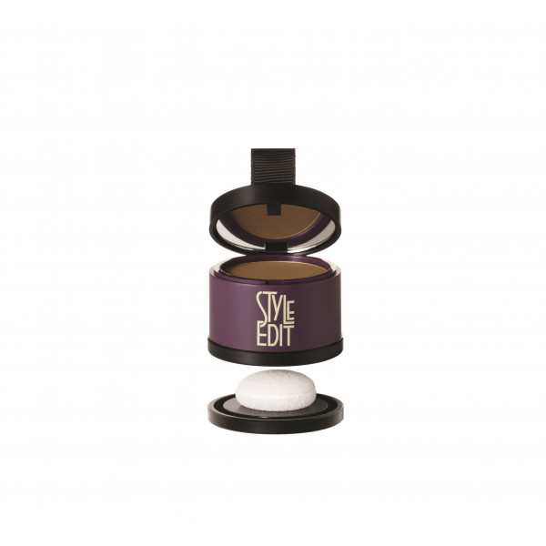 STYLE EDIT ROOT TOUCH UP POWDER COMPACT LIGHT BROWN