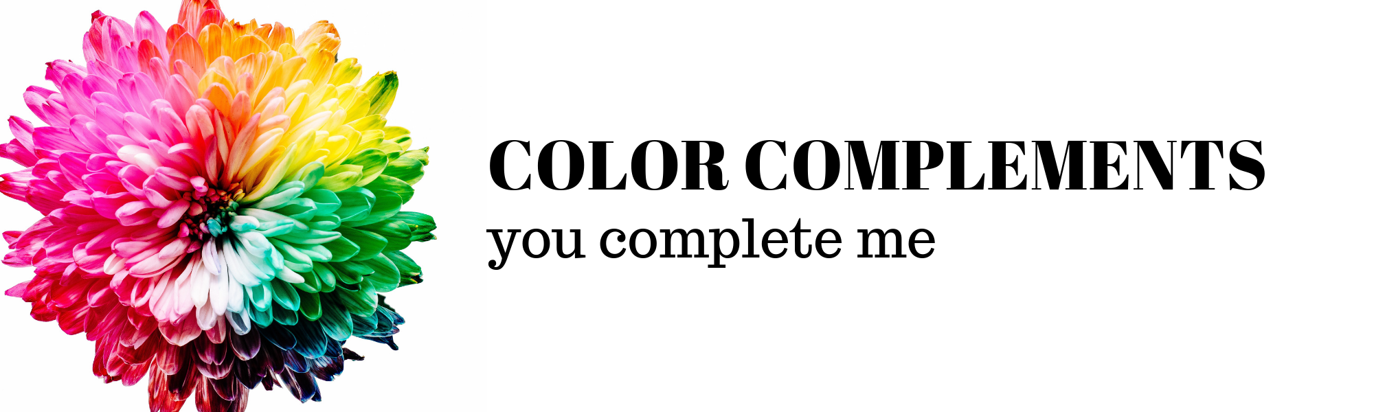 Color Completements banner