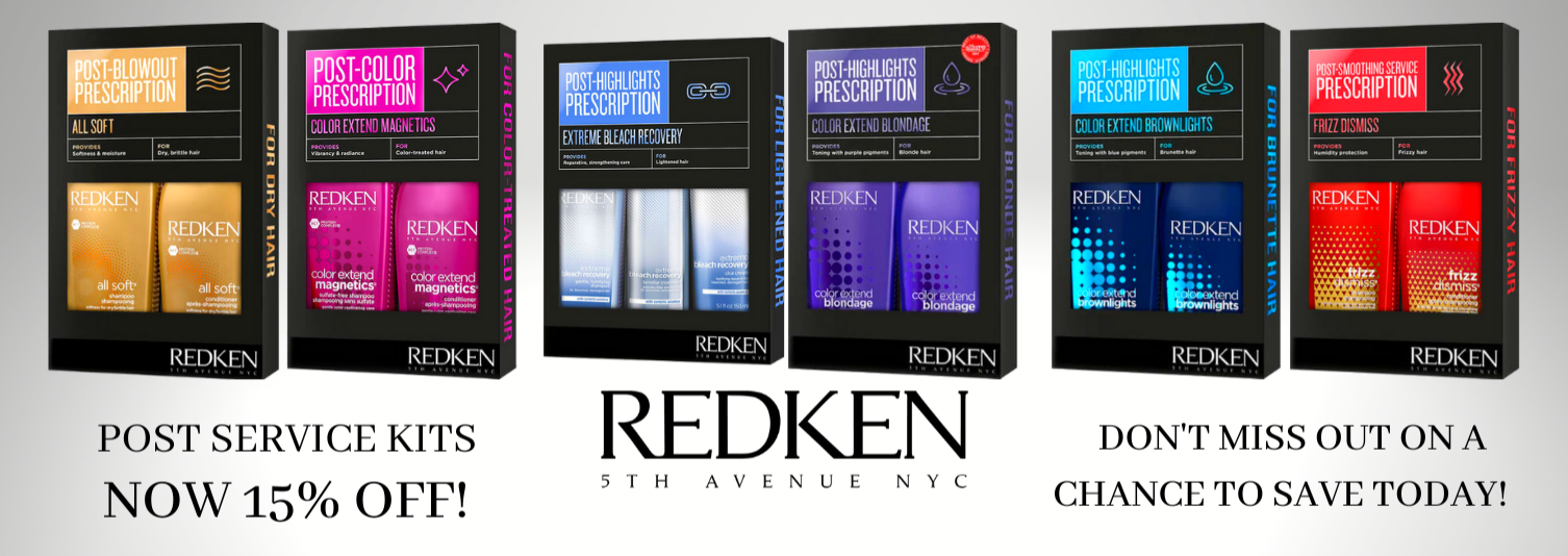 REDKEN POST SERVICE KITS